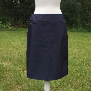 Merona Navy Blue Skirt